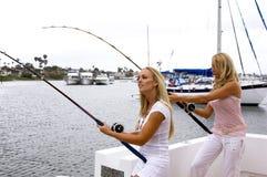 Pêcheurs Images libres de droits