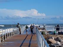 Pêcheurs de la Floride photo libre de droits