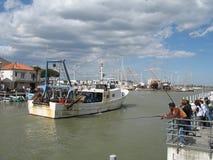 Pêcheurs de Montpellier Photo libre de droits