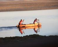 Pêcheurs du Madagascar Photo stock
