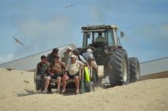 Pêcheurs portugais Image libre de droits