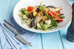 Pêchez la salade image libre de droits