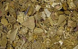 Pêle-mêle de bijoux Photo libre de droits