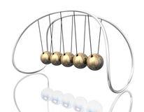 Pêndulo 3D Foto de Stock