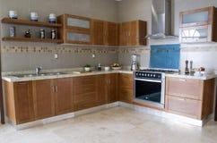 Pêssego da cor da cozinha Imagens de Stock Royalty Free