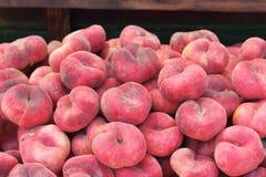 pêssegos Imagens de Stock