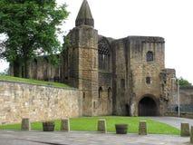 Pífano Escócia Reino Unido de Dumfermline do palácio de Dumfermline Imagem de Stock
