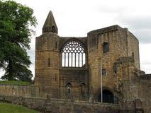 Pífano Escócia Reino Unido de Dumfermline do palácio de Dumfermline Fotografia de Stock