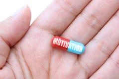 Píldora de la motivación Imagen de archivo