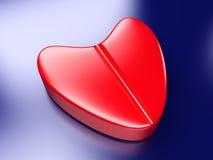 Píldora del amor ilustración del vector