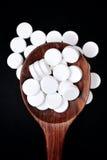Píldora del paracetamol Foto de archivo