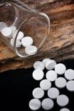 Píldora del paracetamol Imagenes de archivo
