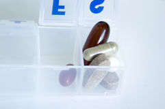 Píldoras Imágenes de archivo libres de regalías
