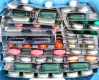 Píldoras Fotografía de archivo