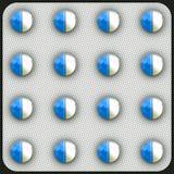 Píldoras antibióticos Fotos de archivo