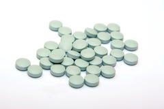 Píldoras azules Fotos de archivo