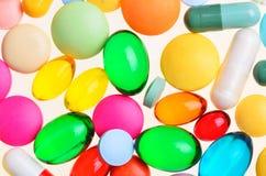 Píldoras clasificadas Fotografía de archivo libre de regalías