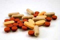 Píldoras clasificadas Foto de archivo libre de regalías
