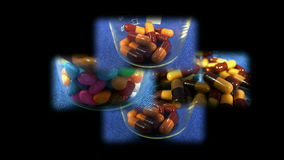 Píldoras coloreadas metrajes