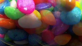 Píldoras coloreadas almacen de video
