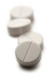 Píldoras de Aspirin imagen de archivo libre de regalías