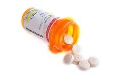 Píldoras de la alergia Imagenes de archivo