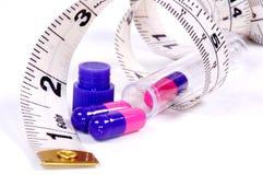 Píldoras de la dieta Imagen de archivo