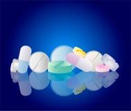 Píldoras de la farmacia Imagen de archivo