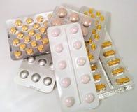 Píldoras de la medicación Fotos de archivo