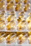 Píldoras de la medicina Imágenes de archivo libres de regalías