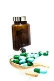 Píldoras de la medicina Imagen de archivo libre de regalías