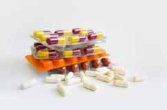 Píldoras de la medicina Fotografía de archivo
