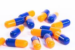 Píldoras de la medicina de la salud Fotografía de archivo libre de regalías