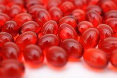 Píldoras de la medicina del gel Imagen de archivo libre de regalías