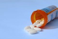 Píldoras de la prescripción Fotos de archivo libres de regalías