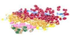 Píldoras de la prescripción Foto de archivo libre de regalías