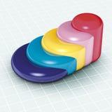 Píldoras de las estadísticas Fotos de archivo