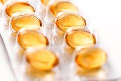Píldoras de las medicinas Fotografía de archivo libre de regalías