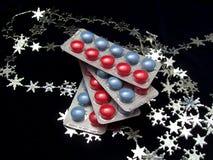 Píldoras del color Foto de archivo