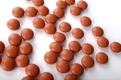 Píldoras del ibuprofen Imagen de archivo libre de regalías