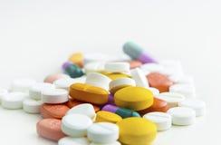 Píldoras en una calina Fotografía de archivo