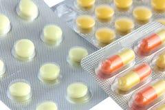 Píldoras médicas Foto de archivo