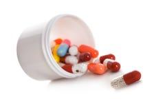 Píldoras médicas Foto de archivo libre de regalías