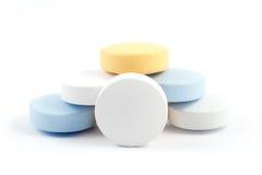 Píldoras médicas Imágenes de archivo libres de regalías