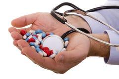 Píldoras médicas Fotos de archivo