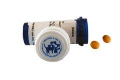 Píldoras para el perro o el gato Fotos de archivo
