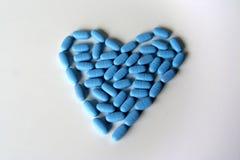 Píldoras para la salud Fotos de archivo