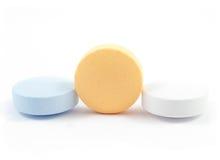 Píldoras y drogas Imágenes de archivo libres de regalías