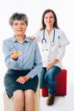 Píldoras y tratamientos Foto de archivo libre de regalías