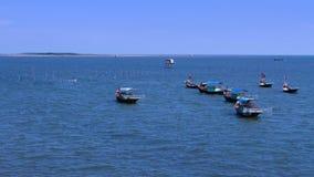 Półdupka Bá' ƒ jezioro jest wielkim naturalnym jeziorem w Wietnam Fotografia Royalty Free